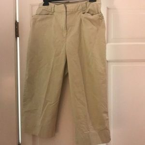 Talbots cropped pants